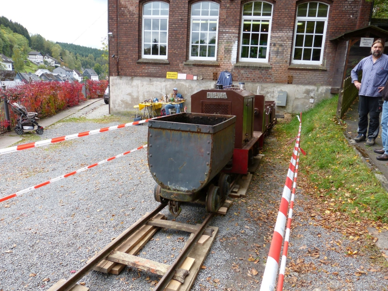 die gute alte Grubenbahn
